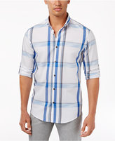 Alfani Men's Sarason Plaid Shirt, Created for Macy's
