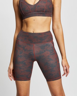Lilybod - Women's Red Sports Tights - Tekita - Size XS at The Iconic
