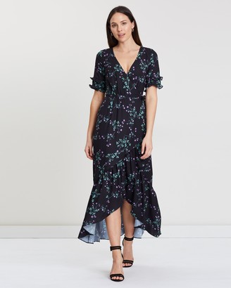Cooper St Firefly Tie Maxi Wrap Dress