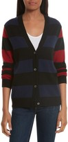 Equipment Women's Shelly Stripe Cashmere Cardigan