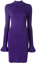 MICHAEL Michael Kors fitted roll neck dress