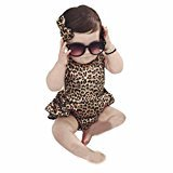 Fheaven Newborn Kids Toddler Baby Girl Clothes Bodysuit Romper Jumpsuit Playsuit Outfits(0/6M)