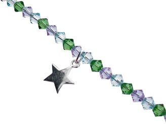 Swarovski Chic A Boo Children's Sterling Silver Star and Crystal 14 Inch Necklace