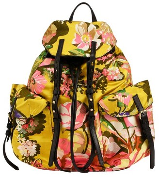 Dries Van Noten Jacquard backpack