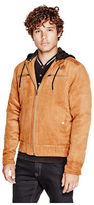 G by Guess GByGUESS Men's Decerto Sueded Jacket