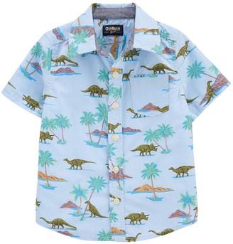 Osh Kosh Toddler Boy Dinosaur Button-Front Shirt