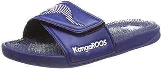 KangaROOS Unisex Adults' K-Nopp V Loafers, Blue (Navy/White 4026)
