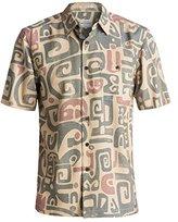 Quiksilver Waterman Men's Olowalu Comfort Fit Hawaiian Shirt