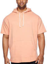 THE FOUNDRY SUPPLY CO. The Foundry Big & Tall Supply Co. Short Sleeve French Terry Hoodie-Big and Tall