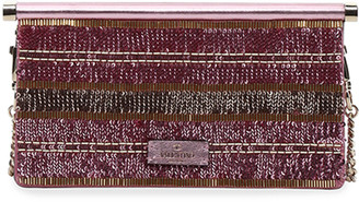 Valentino Carry Secrets Small Sequined Clutch Bag