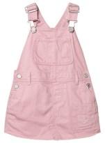 Gap Pink Standard Rip & Repair Denim Skirt Overalls