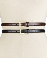 Style&Co. Style & Co. Glaze 2-for-1 Belt, Only at Macy's