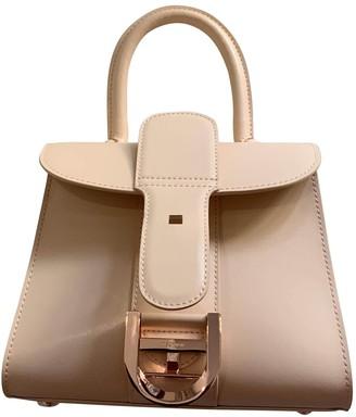 Delvaux Le Brillant Pink Leather Handbags