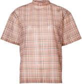 Toga plaid print blouse