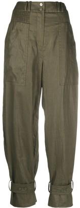 Zimmermann Lucky tapered linen trousers