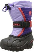 Sorel Flurry TP Boot (Tod/Yth) - Purple/Whitened Violet-7 Toddler
