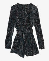 Intermix Exclusive For Printed Wrap Romper