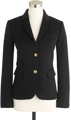 J.Crew Collection schoolboy blazer in Italian cashmere