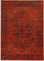 "Kenneth Mink Spectrum Mod Heriz 5'3"" x 7'6"" Area Rug"