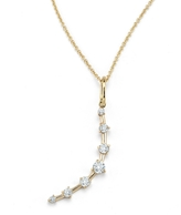 Jade Trau Diamond Crescent Moon Charm
