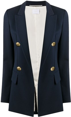 Merci Peak-Lapels Double-Breasted Blazer