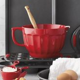 Sur La Table Red Batter Bowl, 4 qt.