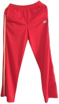 Fila Red Trousers for Women