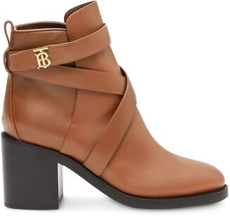 Burberry Monogram Motif Boots