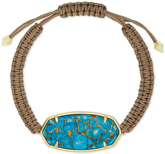 Kendra Scott Elle Gold Friendship Bracelet