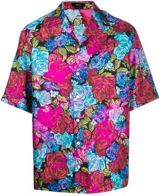 Versace Floral Silk Shirt