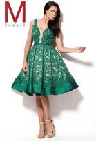 Mac Duggal 48376 R Emerald Green