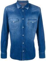 Jacob Cohen denim shirt - men - Cotton/Polyester/Spandex/Elastane/Viscose - M