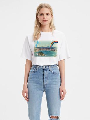 Levi's Graphic Boxy Tee Shirt