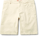 Barena - Slim-fit Stretch-cotton Twill Chino Shorts
