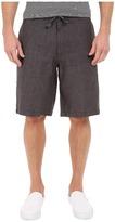 Perry Ellis Linen Washed Drawstring Shorts