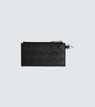 Bottega Veneta Zipped leather cardholder