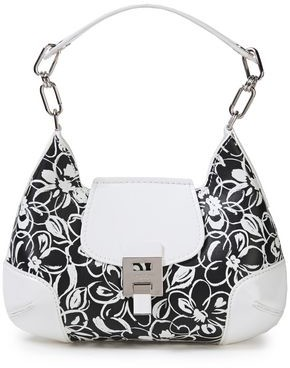 Michael Kors Floral-print Leather Tote