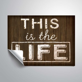 ArtWall This is the Life, Removable Wall Art Mural by Jennifer Pugh