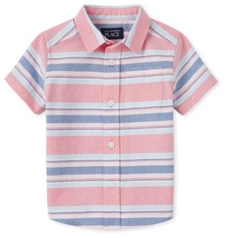 The Children's Place Baby Toddler Boy Poplin Shirt