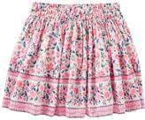 Osh Kosh Oshkosh Bgosh Girls 4-12 Floral Twill Skirt