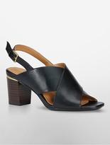 Calvin Klein Cindya Cross-Strap Sling Back Sandal