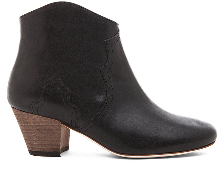 Isabel Marant Dicker Calfskin Leather Boots