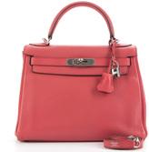 Hermes Bouganvillea Clemence Retourne Kelly 28 Bag