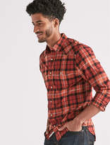 Lucky Brand Saturday Stretch Poplin Western Shirt