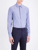 Paul Smith Mens Grey Striped Shirt