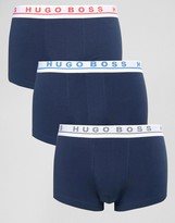 Boss Black By Hugo Boss 3 Pack Trunks