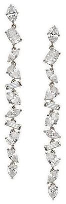 Adriana Orsini Avalanche Cubic Zirconia Linear Earrings
