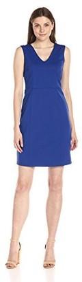 Lark & Ro Amazon Brand Women's Sleeveless V-Neck Sheath Dress