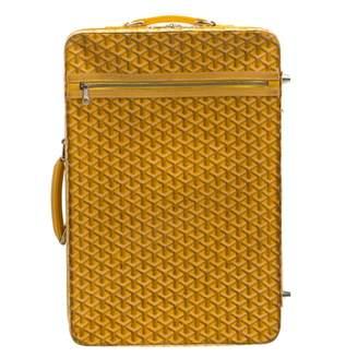 Goyard Yellow Cloth Travel bags