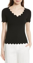 Milly Women's Scallop Top